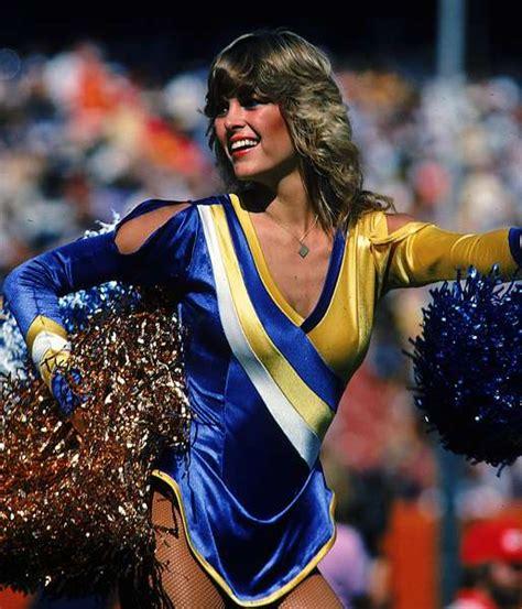 1980 cheer hair styles retro nfl cheerleaders 1980s and 90s sporting news
