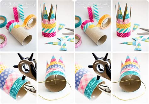 Craft Paper Rolls - paper crafts creativity toilet paper roll crafts crafts