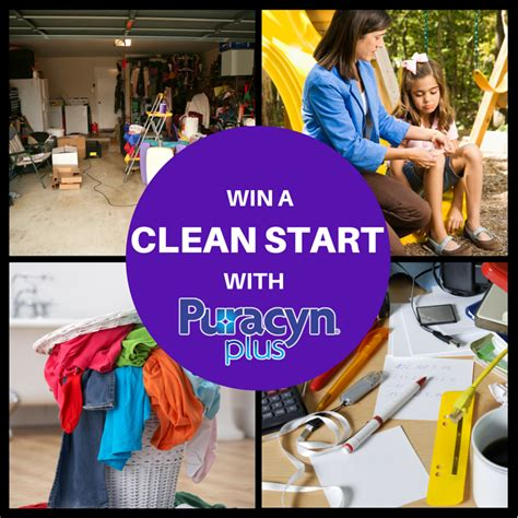 Sweepstakes Starts - win a clean start with puracyn plus