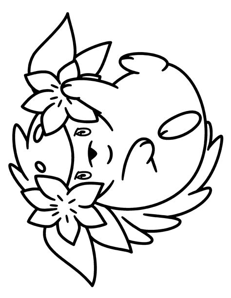 pokemon coloring pages shaymin free coloring pages of diamond back girl