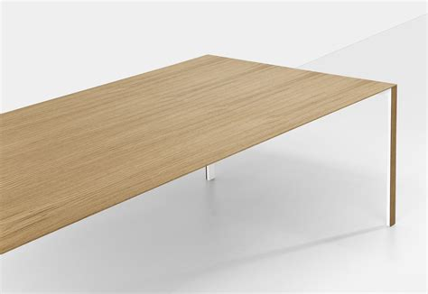 thin table l thin k wood table by kristalia stylepark