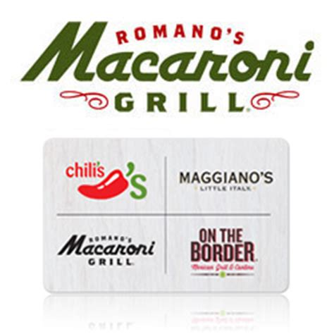 buy romano s macaroni grill gift cards at giftcertificates com - Macaroni Grill Gift Cards