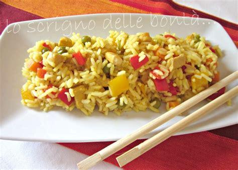 cucinare riso thai riso thai con pollo e verdure