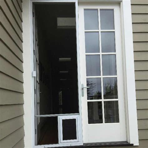 wondrous screen doors for doors outside doors with doggie door retractable screen doors