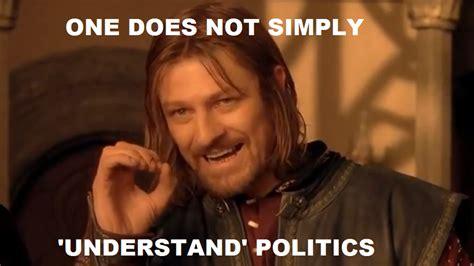 Meme Boromir - the click to the future week 10 internet and politics