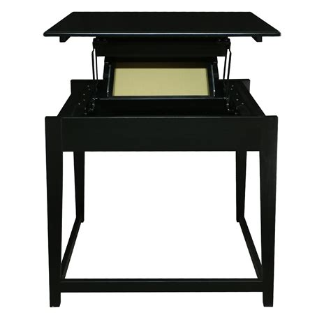 jefferson standing desk jefferson standing desk with concealed drawer casual home