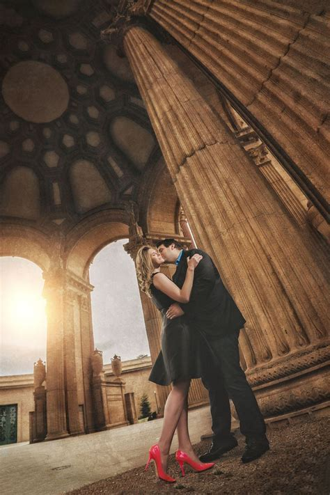 25 best Palace of Fine Arts Engagement Shoot images on