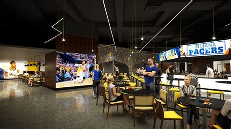 bankers fieldhouse locker room restaurant pacers announce lifebound courtside club arena digest