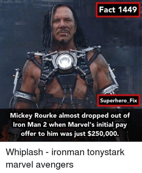 Iron Man Meme - 25 best memes about mickey rourke mickey rourke memes