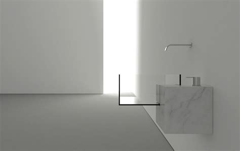 minimalist bathroom sink with an almost surreal appearance - Minimalist Bathroom Sink
