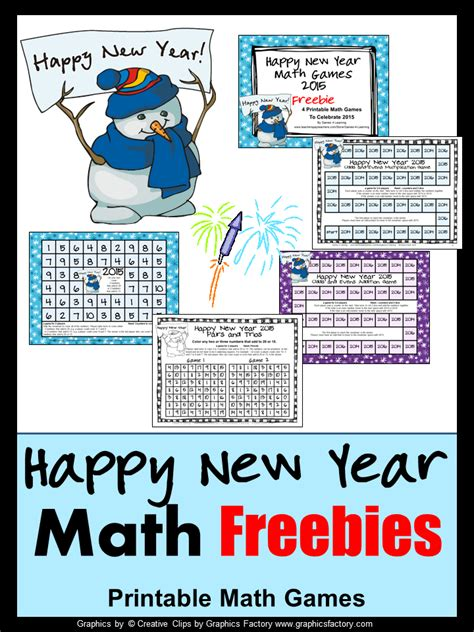 new year maths 4 learning happy new year math