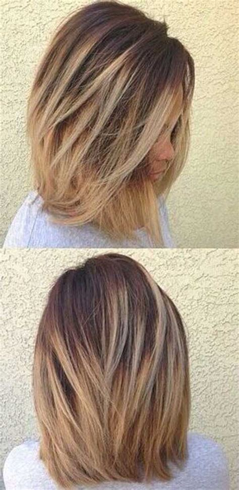 does ombre work with medium layered hair length 20 best ombre hair color for short hair short hairstyles