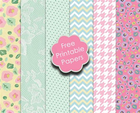 Free Printable Papers For Card - free trimcraft printable papers and the craft