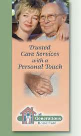 all generations home care home page