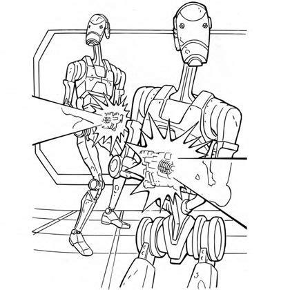 battle droid coloring pages battle droids coloring page disney family