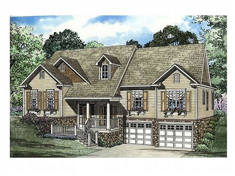 house plans on sloping lot