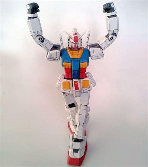 Papercraft Gundam Template - mobile suit gundam papercraftsquare free papercraft