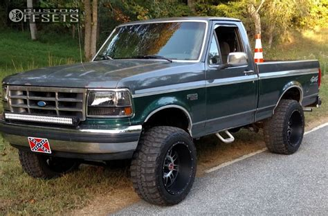 1992 ford f150 fuel 1992 ford f 150 xd riot country suspension lift 4in