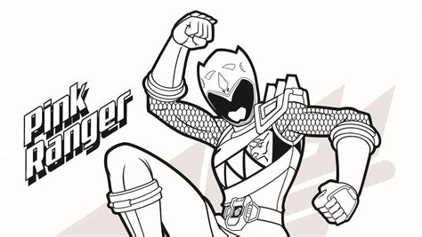 power rangers pink ranger coloring pages pink ranger coloring page power rangers the official