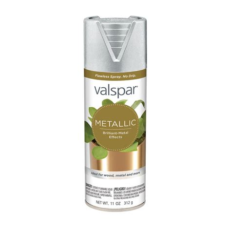valspar spray paint colors shop valspar silver metallic enamel spray paint actual