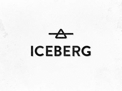 tattoo logo inspiration iceberg by jan raven de klerk logo logotype design