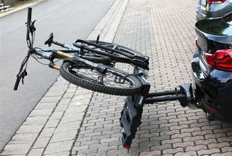 thule easyfold xt  fahrradtraeger im test bike geek