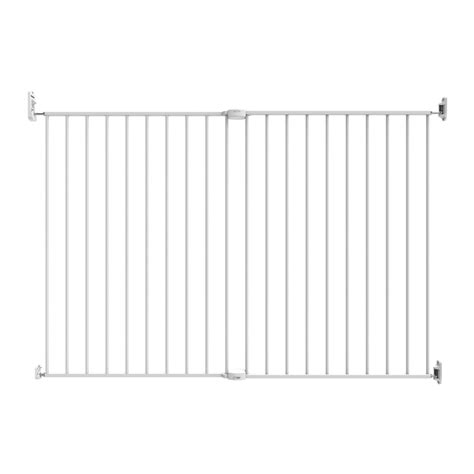 north state extra wide swing gate perma child safety extra tall extra wide superior swing gate