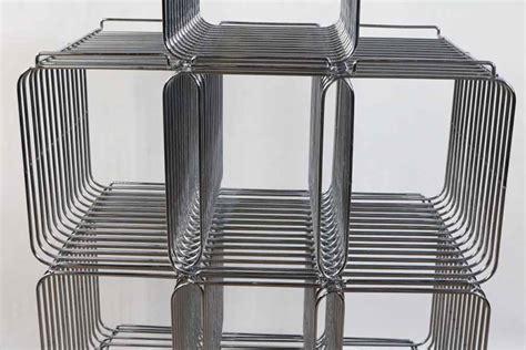 regal chrom gitter draht gitter regal system modular chrom wand boden