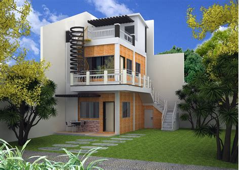 create house architectural designs 3 storey house design