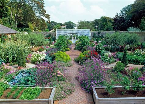 Pretty Garden Ideas Vegetable Garden Ideas Photograph Pretty Potager