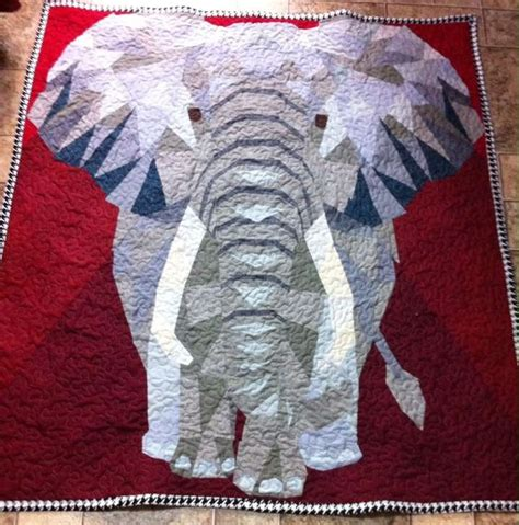 Elephant Quilt Patterns by Crafts Quilt And Patterns On