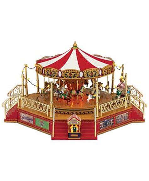 closeout mr christmas world s fair boardwalk carousel