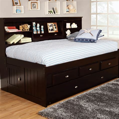 With Trundle Bed by Discovery World Furniture Captian S Bed With Trundle