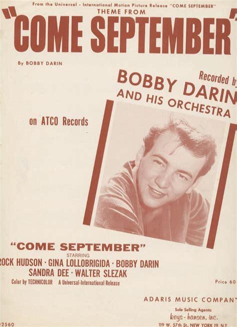 Theme Music Come September | bobbydarin net bobbydarin com quot come september quot