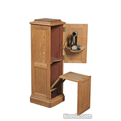 Telephone Cupboard Antique Telephones Technology Price Guide Antiques