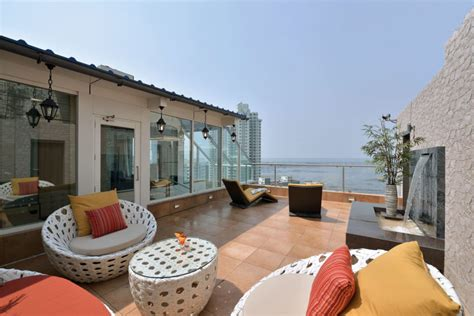 Triplex Plans by A Sea Facing Triplex Penthouse In Mumbai India