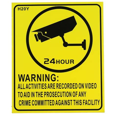 8 Ways To Spot Warning Signs In An Dating Profile by Cctv Surveillance Warning Sign 240x200mm Hd