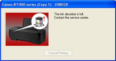 how to reset canon printer pixma ip1880 reset canon ip1880 absorber full printer resetter how to