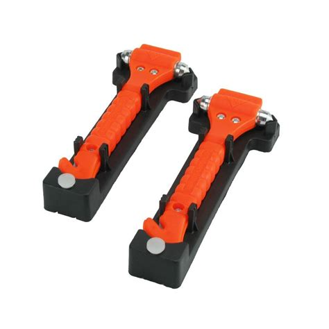commutemate universal emergency hammer window punch and - Window Hammer And Seat Belt Cutter