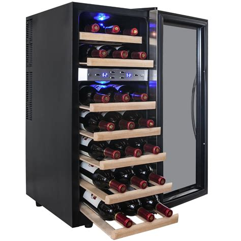 best thermoelectric wine coolers akdy 21 bottle dual zone thermoelectric wine coolerwine