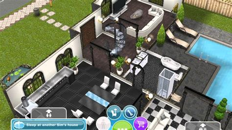 sims freeplay my 3 storey house