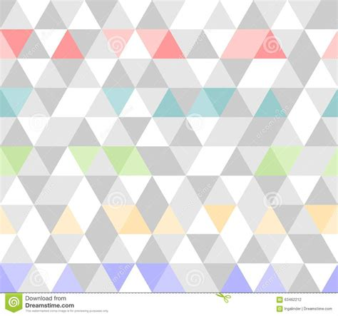 gray triangle pattern vector tile triangle vector pattern background stock vector
