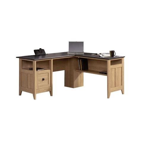 Oak L Desk by L Desk In Dover Oak 412320