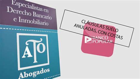 sentencia clausula suelo banco popular hipoteca suelo banco popular 48041 suelos ideas