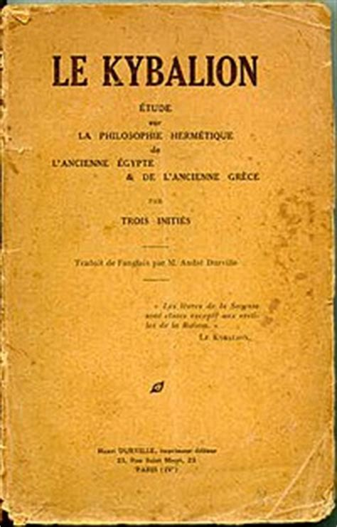 the kybalion centenary edition books le kybalion wikip 233 dia