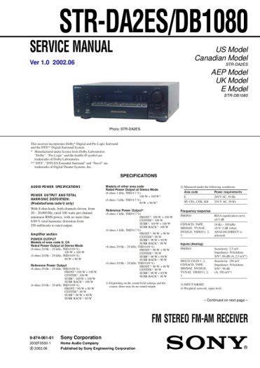 str report sle sony qs class home cinema receiver 6x100w str db 1080 for