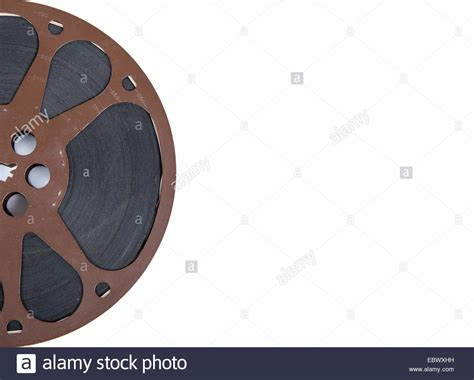 free stock video download 35mm film reel background animated old movie film reel 16mm on the white background stock