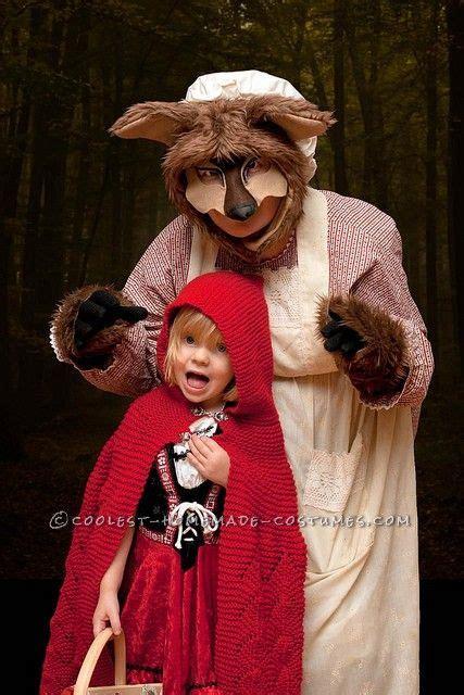 scary homemade big bad wolf costume wolf costume