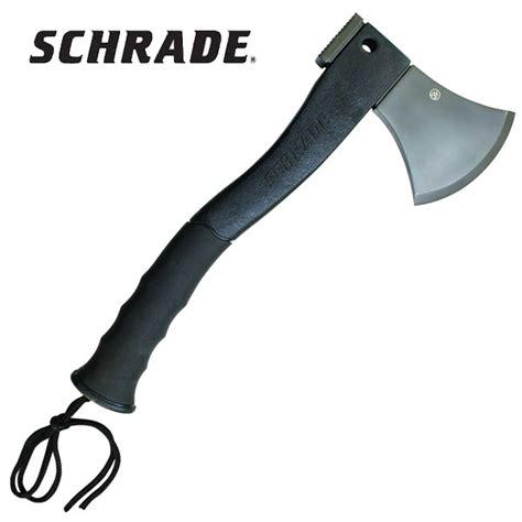 schrade survival hatchet buy the schrade scaxe2 survival hatchet hunters knives