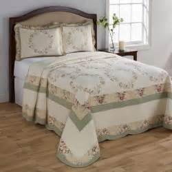 bedroom summer bedding pattern quilts with white walls
